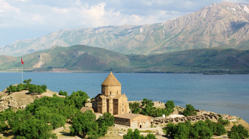 Church of the Holy Cross, Akdamar Island, Van, Turkey