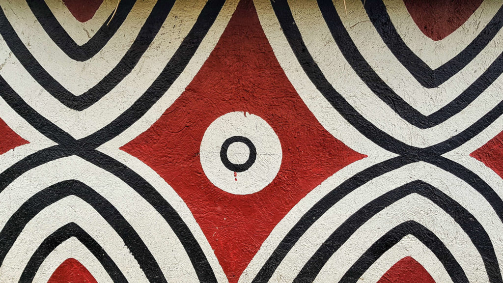 Imigongo art, Rwanda
