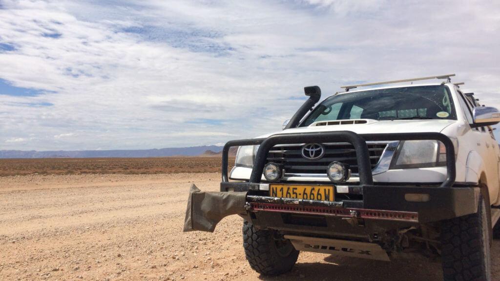 Driving to Swakop, Namibia , Illona FAM 2018