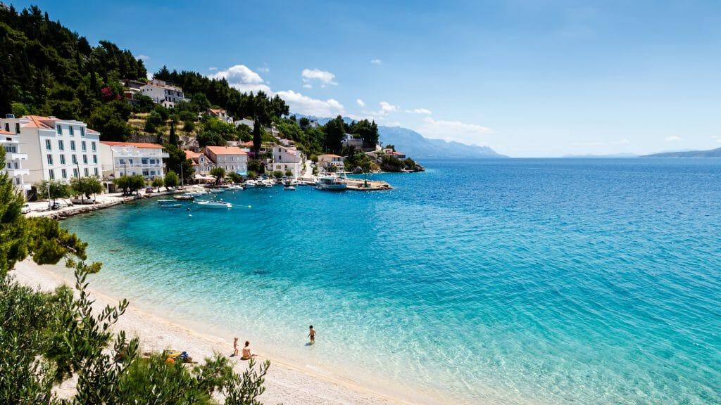 Adriatic Beach, Split, Croatia