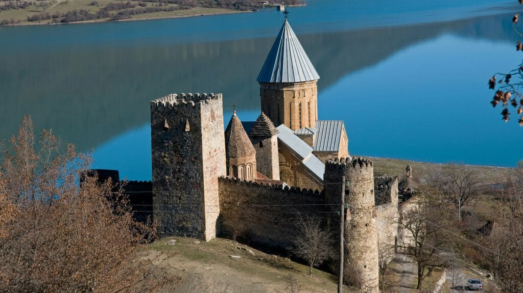 Ananuri Fortress, Zhinvali Reservoir, Georgian Military Highway, Georgia