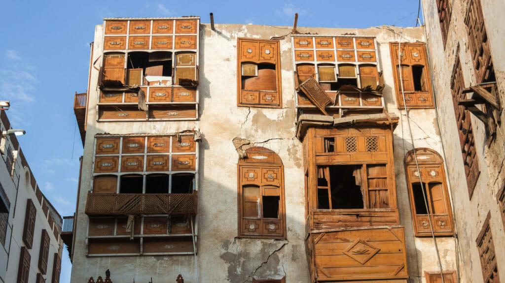 Arabian house, old Jeddah, Saudi Arabia