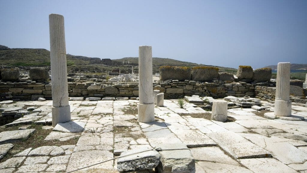 Archaeological Site, Delos, Greece