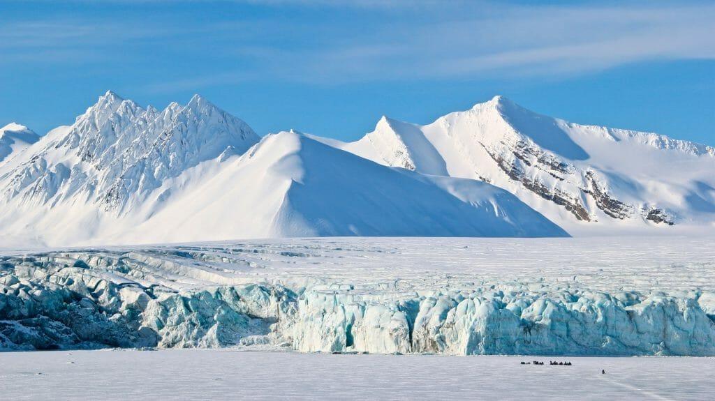 Arctic Landscape, Spitsbergen, Svalbard