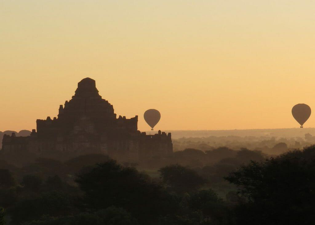 Balloons of Bagan, Balloon Safari, Bagan, Myanmar
