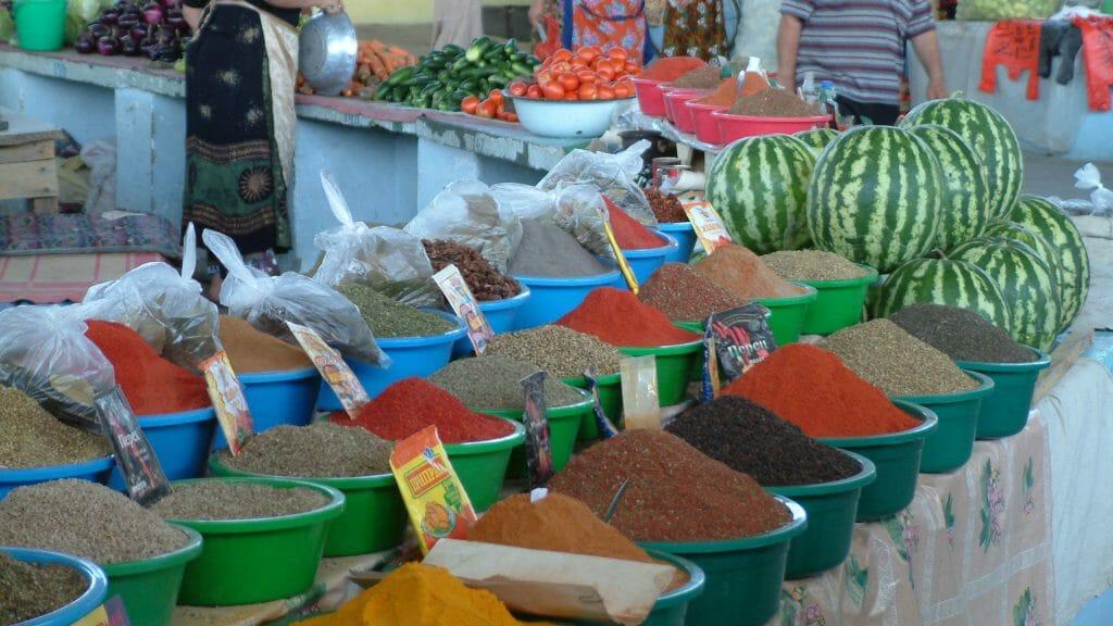 Bazaar, Bukhara, Uzbekistan