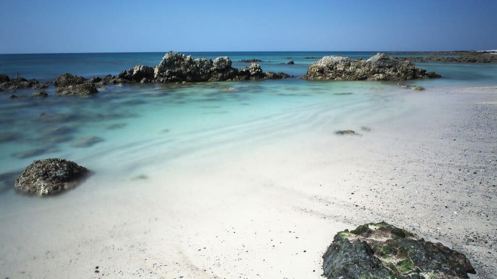Beach, Masirah Island, Oman