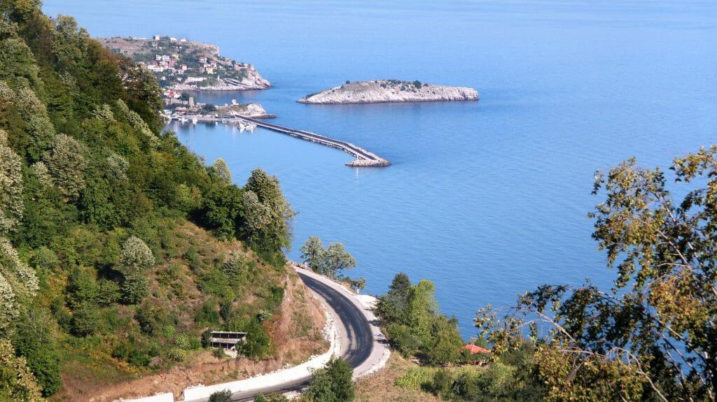 Black Sea Coast Road, Turkey