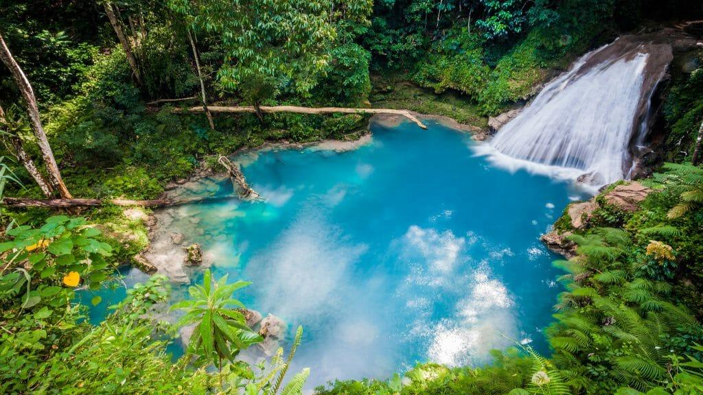 Blue Hole Waterfall, Jamaica