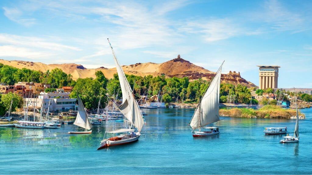 River Nile, Aswan, Egypt