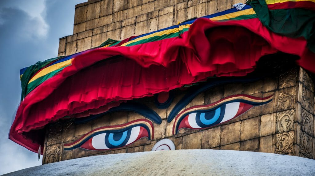 Buddha Wisdom Eyes, Kathmandu, Nepal