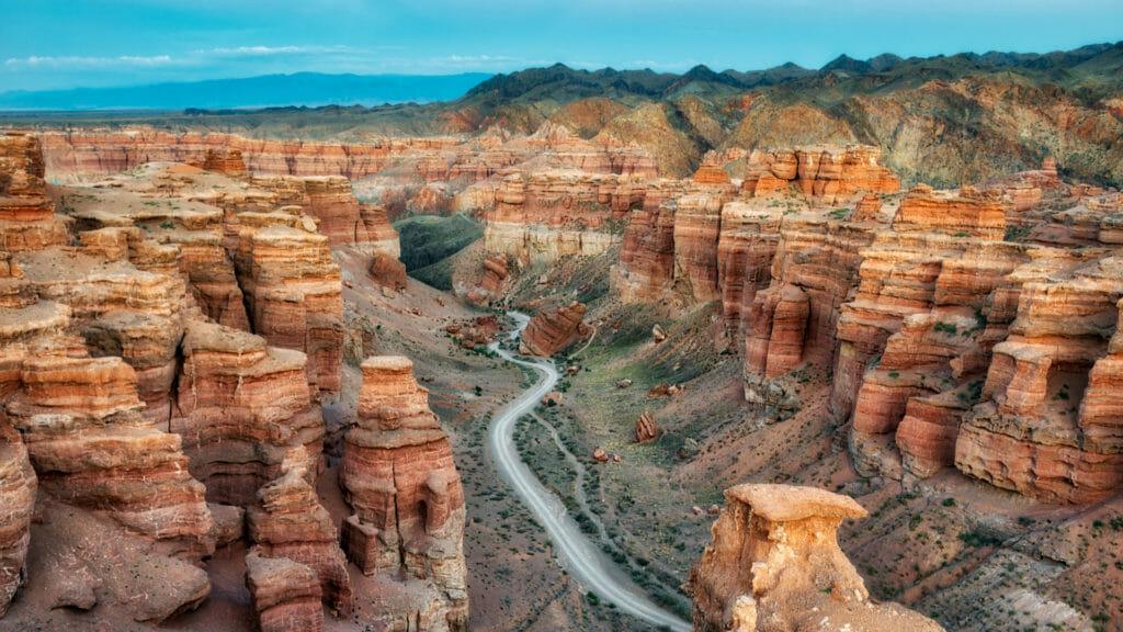 Charyn canyon, Charyn National Park, Kazakhstan