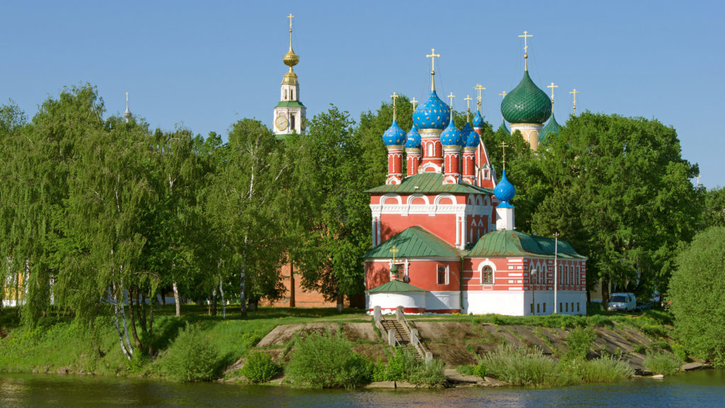 Church of the Dmitry in Uglich, Volga River, Russia