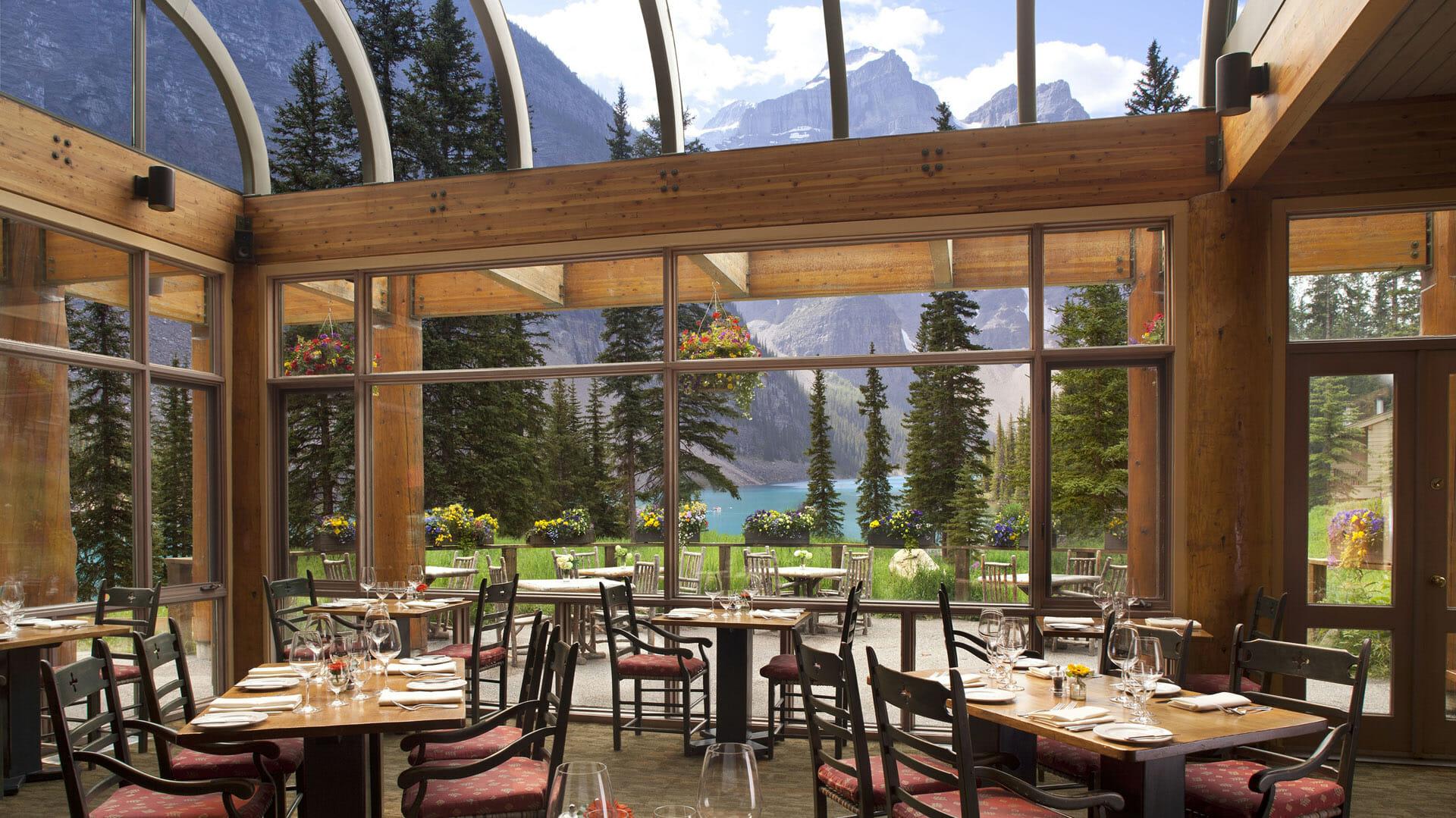 Moraine Lake Lodge Lake Louise Canada Steppes Travel