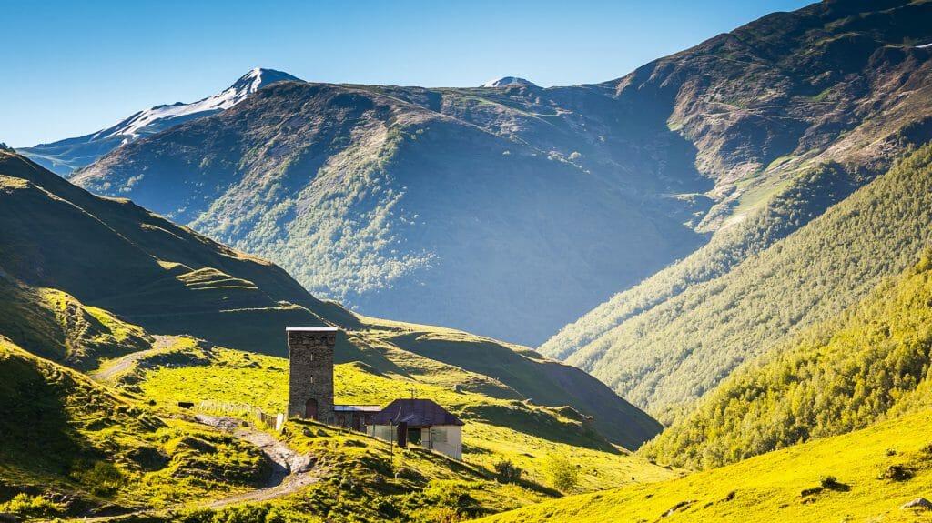 Enroute to Ushguli, Upper Svaneti, Georgia
