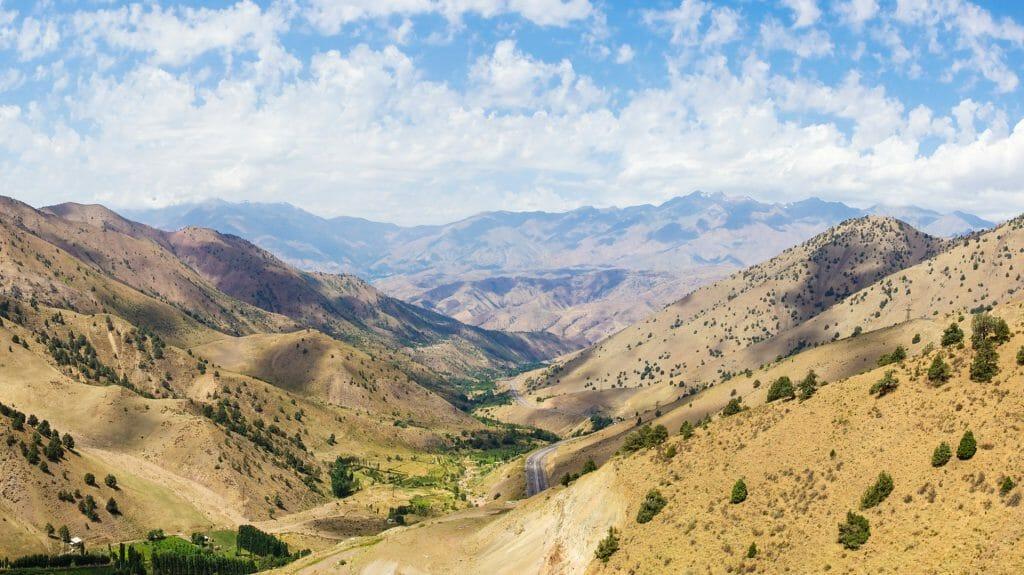 Fergana Valley Pass, Uzbekistan