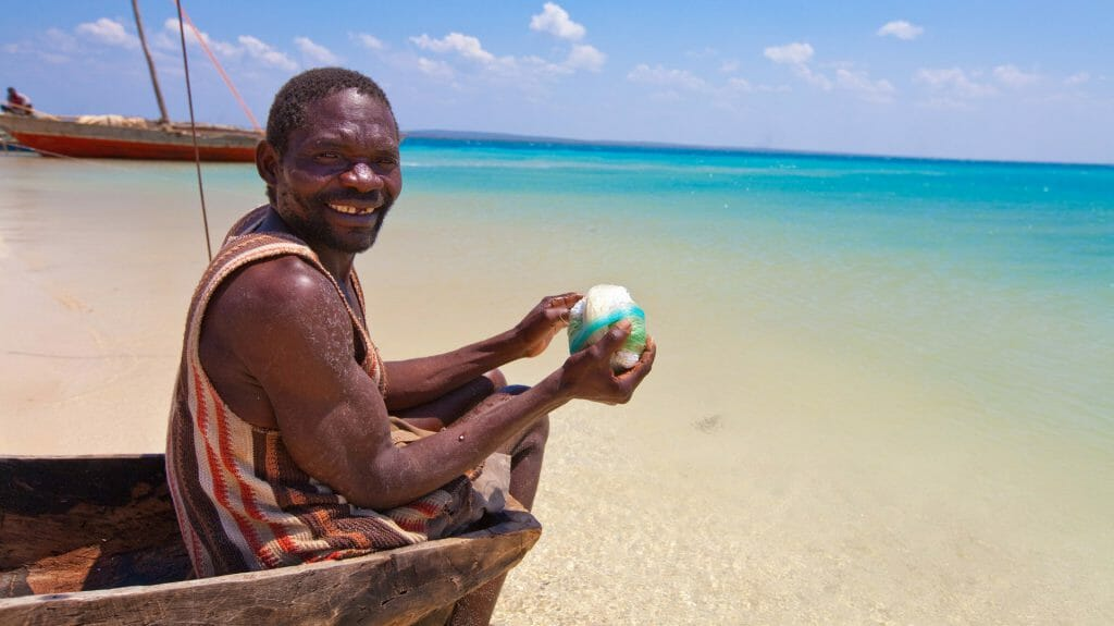 Fisherman, Ibo Island, Mozambique