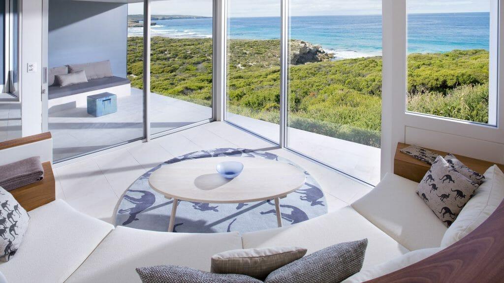 Flinders Suite, Southern Ocean Lodge, Kangaroo Island, Australia