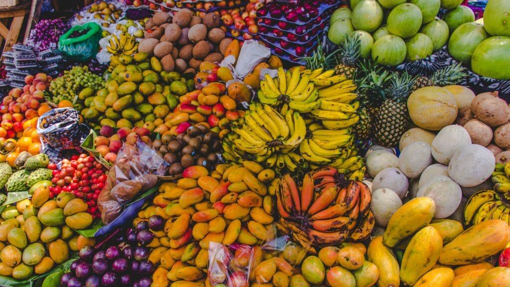 Fruit Market in Antigua, Guatemala