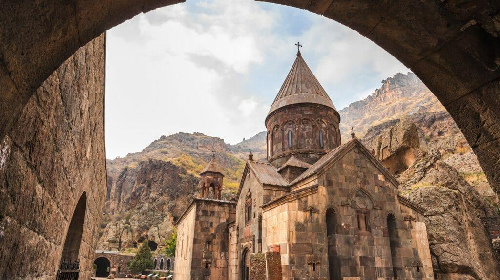 Geghard monastery, Kotayk Province, Armenia
