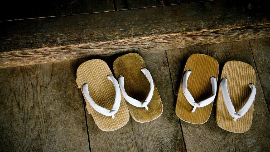 Geta, Wooden Sandals, Japan