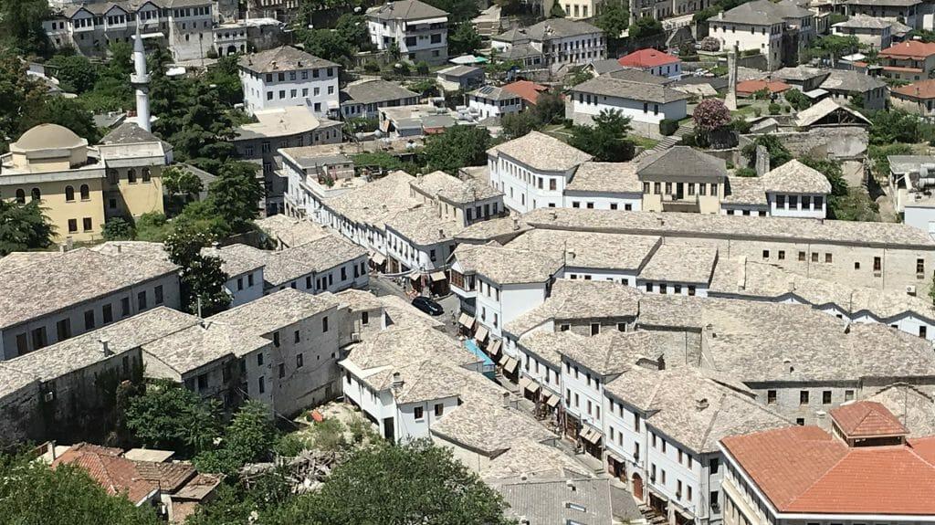 Gjirokastra roofs