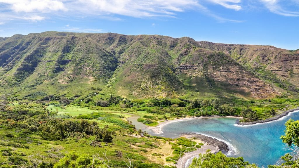 Halawa Valley, Molokai, Hawaii