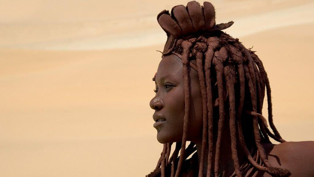 Himba Lady, Serra Cafema, Skeleton Coast, Namibia