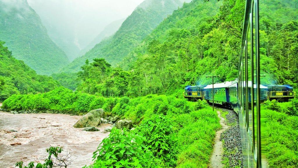 Hiram Bingham Train, Sacred Valley, Peru