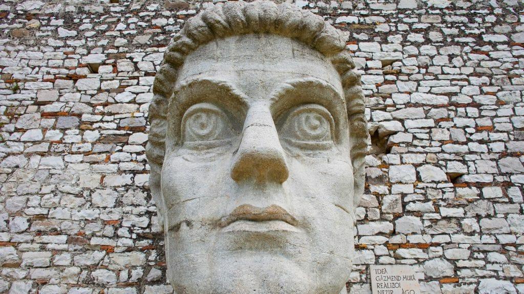 Historic city of Berat in Albania, an Unesco world heritage site, Albania