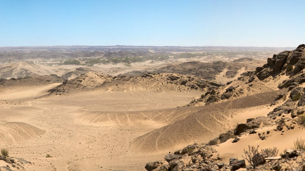 Inland from the Skeleton Coast, Namibia