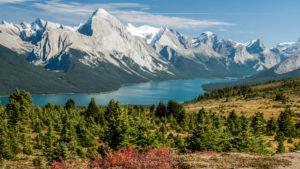 Jasper National Park, Maligne Lake, Alberta, Canada