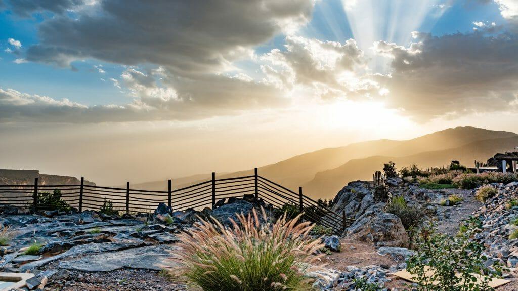 Jebel Akhdar Mountain View, Oman