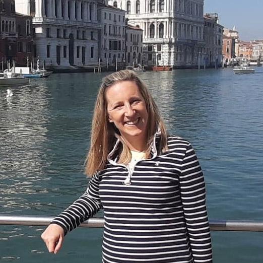Katie Benden in Venice