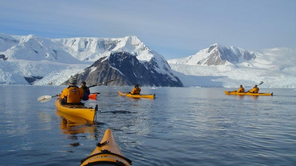Kayaking, One Ocean, Antarctica