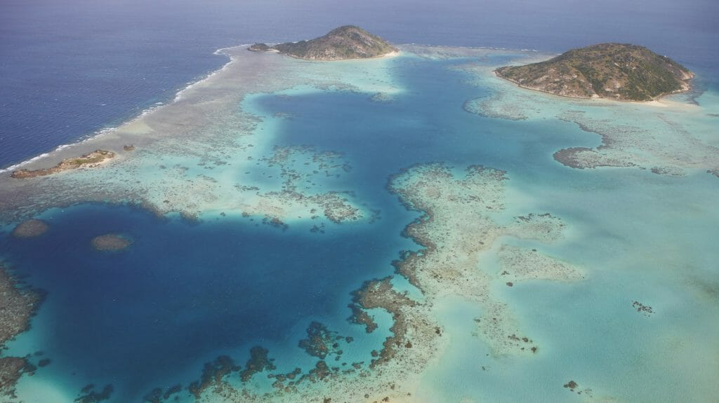 Lizard Island Resort, Aerial View of Lizard Island, Queensland, Australia