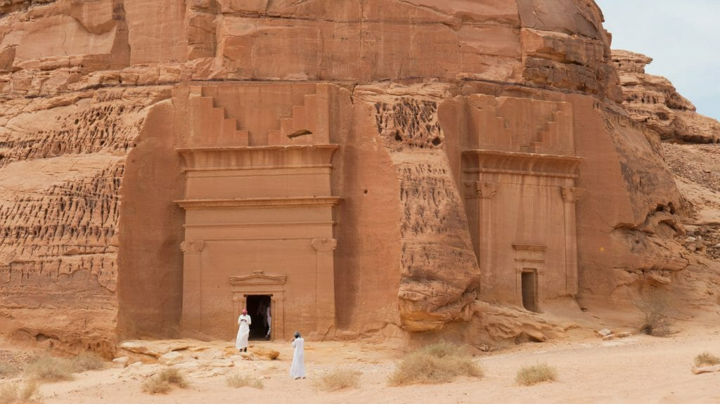 Madain Saleh Tombs, Near Al Ula, Saudi Arabia