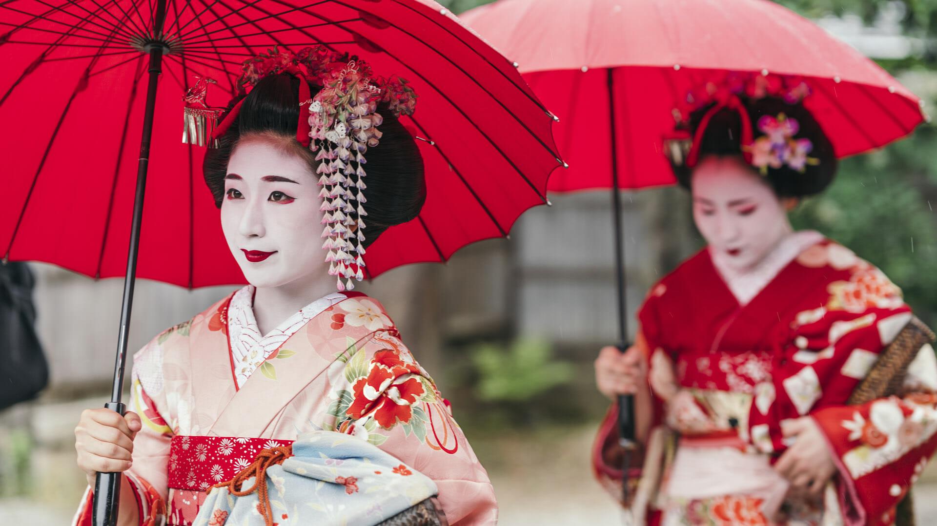 Prostitutes in Kyoto