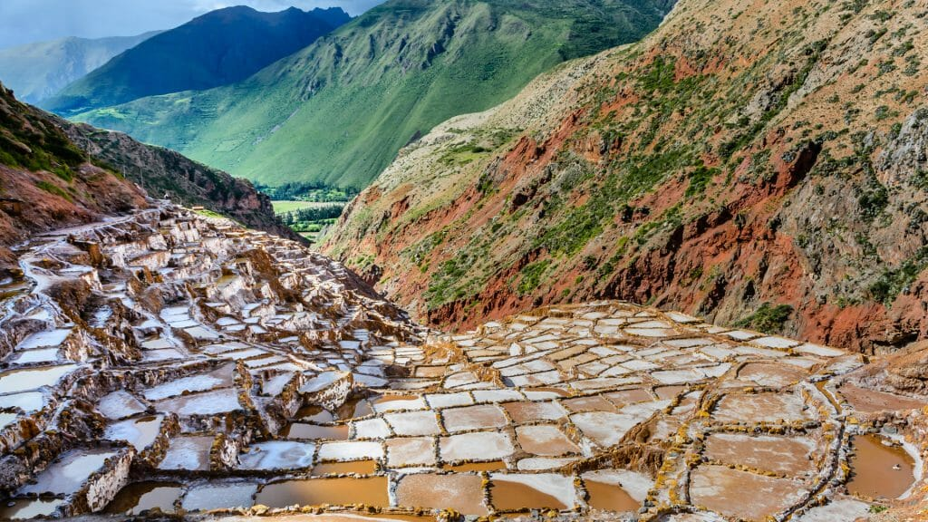 Maras Salt Terraces, Cusco, Peru