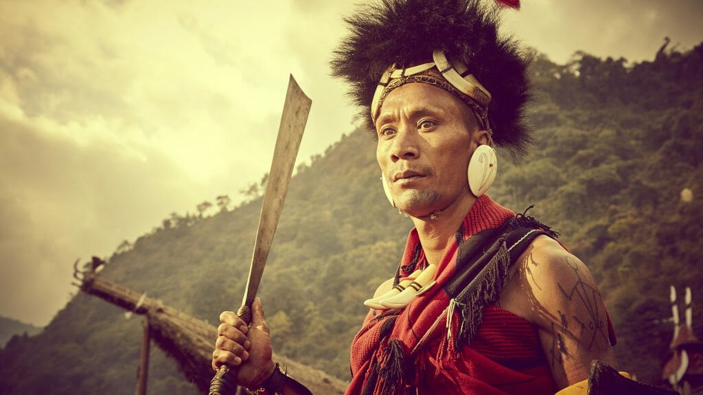 Morungs Tribes,Kohima, Nagaland, India