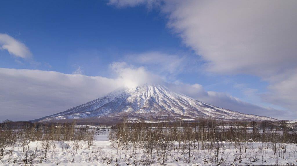 Mount Yotei volcano, Shikotsu Toya National Park, Hokkaido, Japan