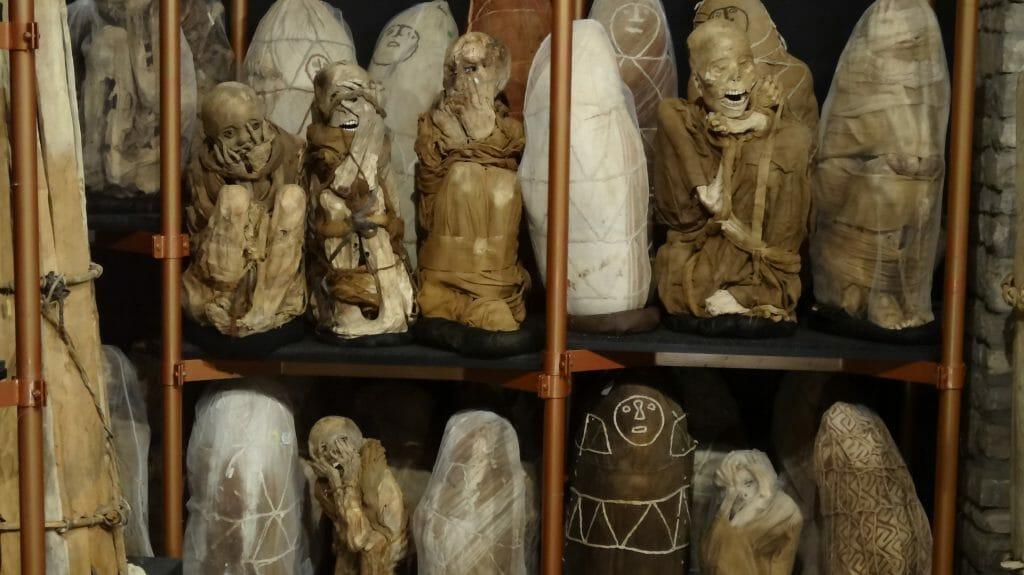 Mummies, Leymebamba, Peru
