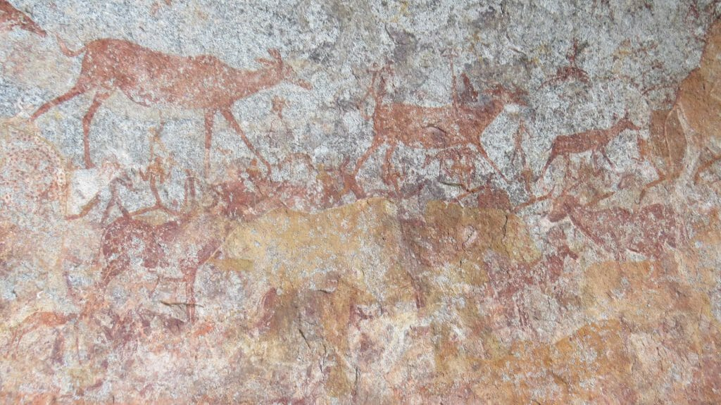 Native Paintings, Matopo Hills, Zimbabwe