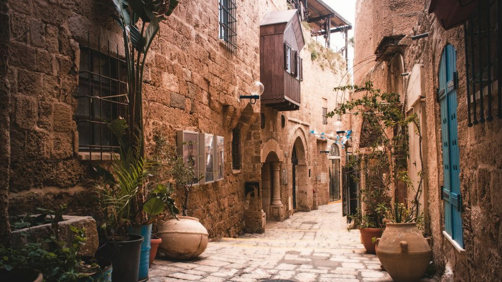 Old City, Tel Aviv, Israel