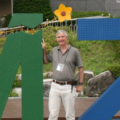 Paul at DMZ border, South Korea