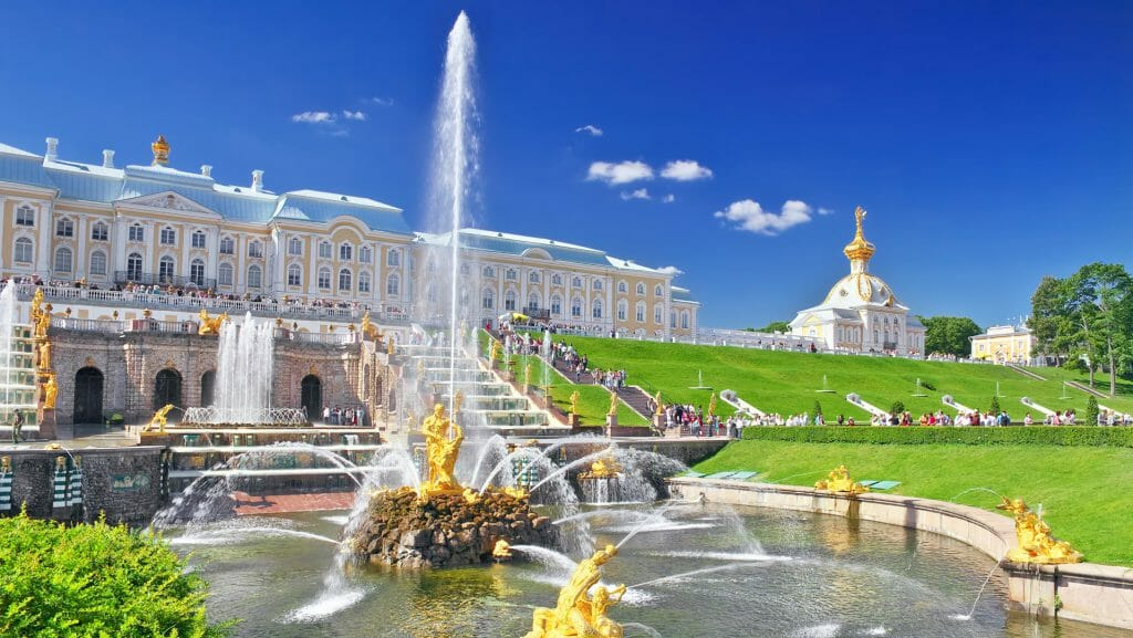 Peterhof Palace, St Petersburg, Russia
