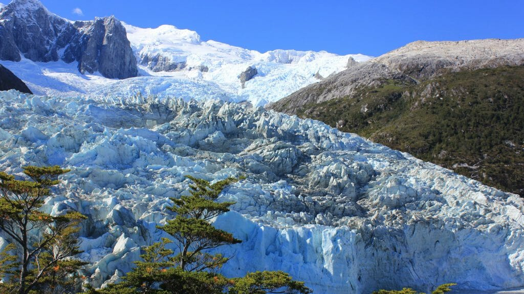 Pia Glacier, Chilean Fjords, Chile