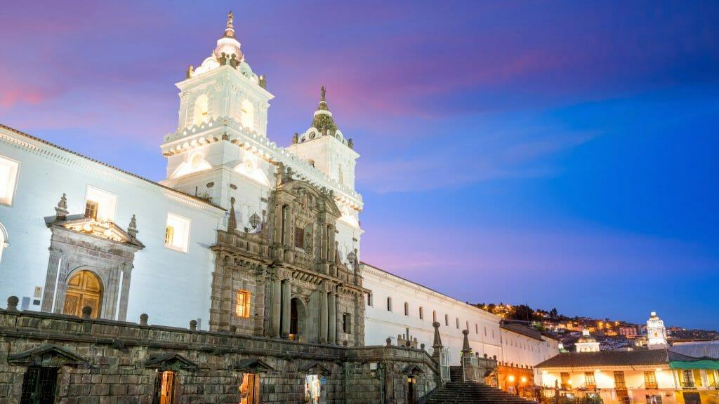 Plaza de San Francisco, Old Town Quito, Ecuador
