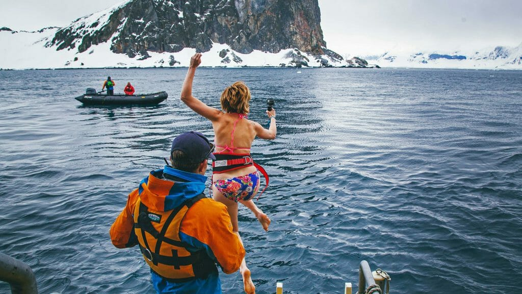 Polar Plunge, North Pole