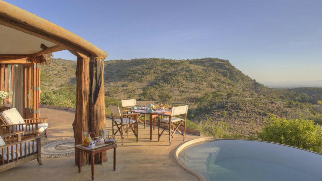 Pool, Lewa Wilderness Lodge, Laikipia, Kenya